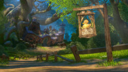 Disney - Tangled Background for Teams or Zoom